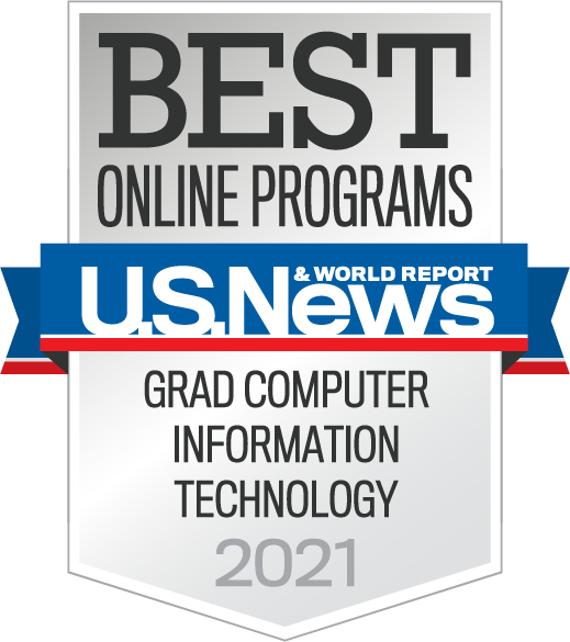 U.S. News and World Report Best Online Programs 2021 - Grad Computer Information Technology
